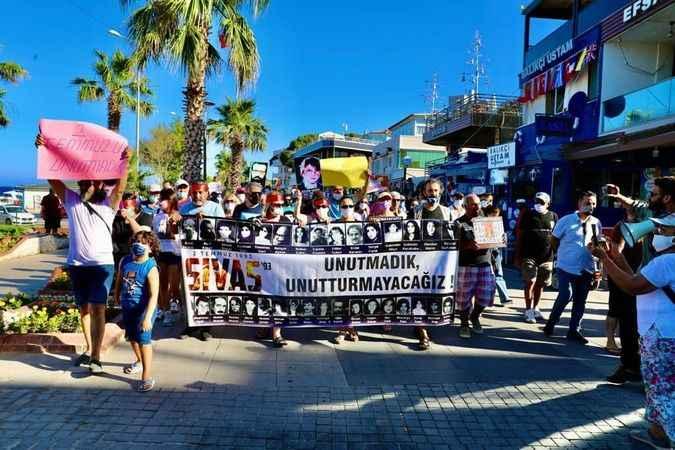 2 Temmuz Sivas olayları Didim'de unutulmadı