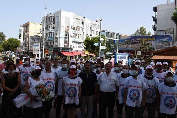 Kuşadası Belediyesi'nde işçi bayramı