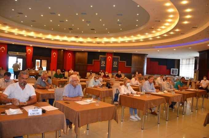 Nazilli Belediyesi Temmuz ayı meclis toplantısı yapıldı