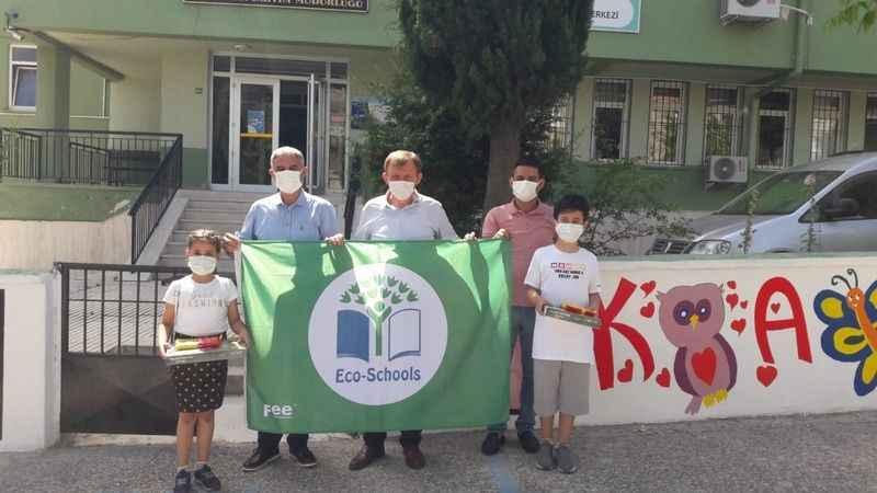 Yenice Okulu Aydın'ın en çevreci okullarından biri oldu