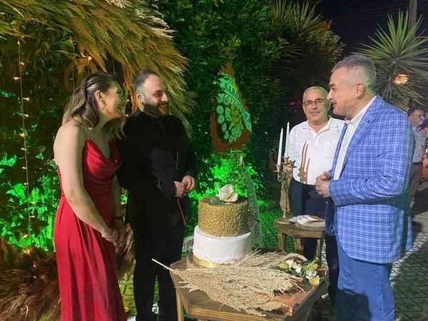 AK Partili Demir'in mutlu günü