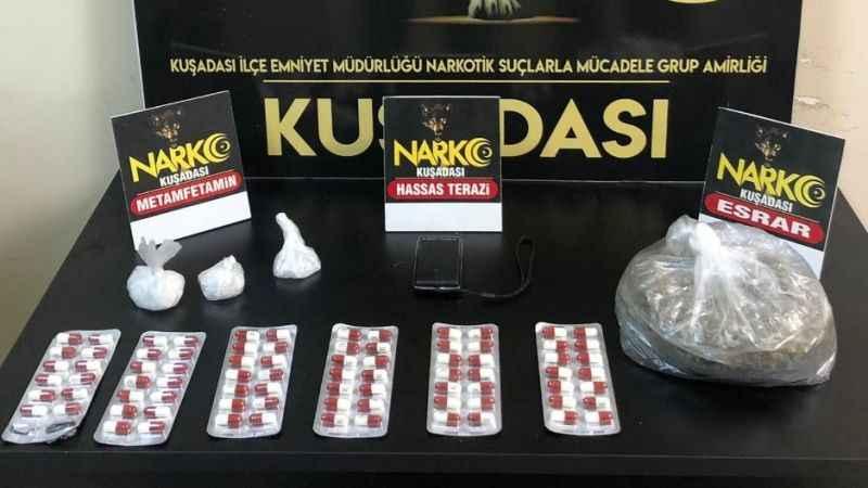 Aydın'da 5 zehir taciri tutuklandı