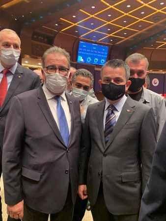 Başkan Sağel, Bakan Pakdemirli ile bir araya geldi
