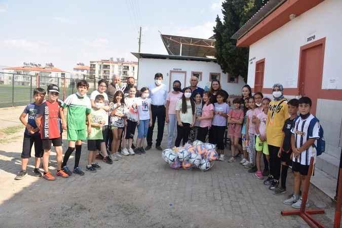 Karacasu'daki spora İYİ destek