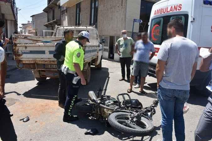 Karacasu'da korkutan kaza: 1 yaralı