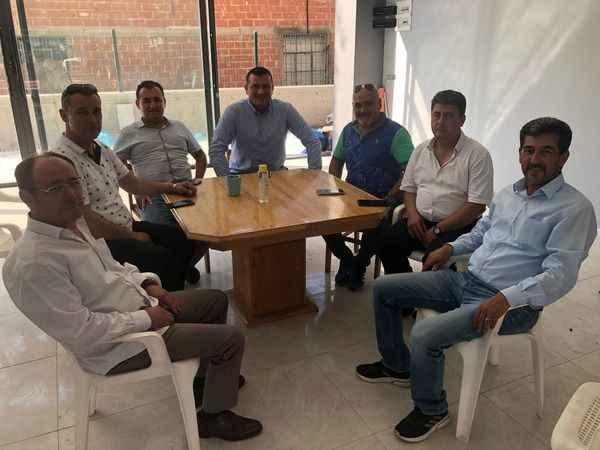 MHP'li Pehlivan, Çine'de esnaf ve vatandaşla buluştu
