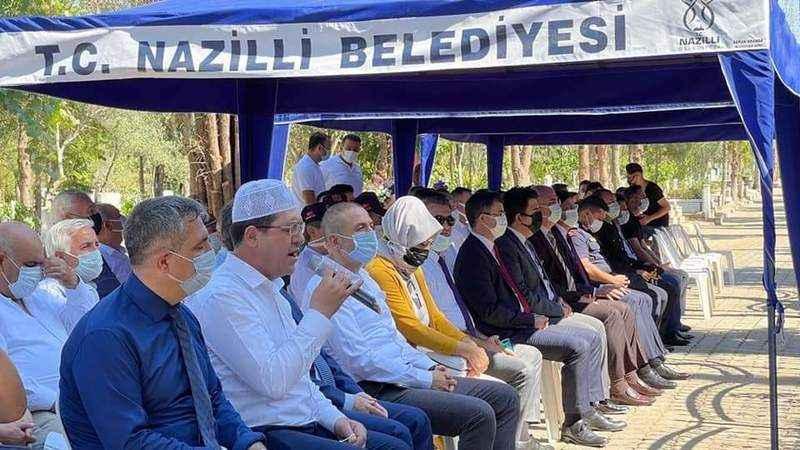 Nazilli'de 15 Temmuz şehitleri dualarla anıldı
