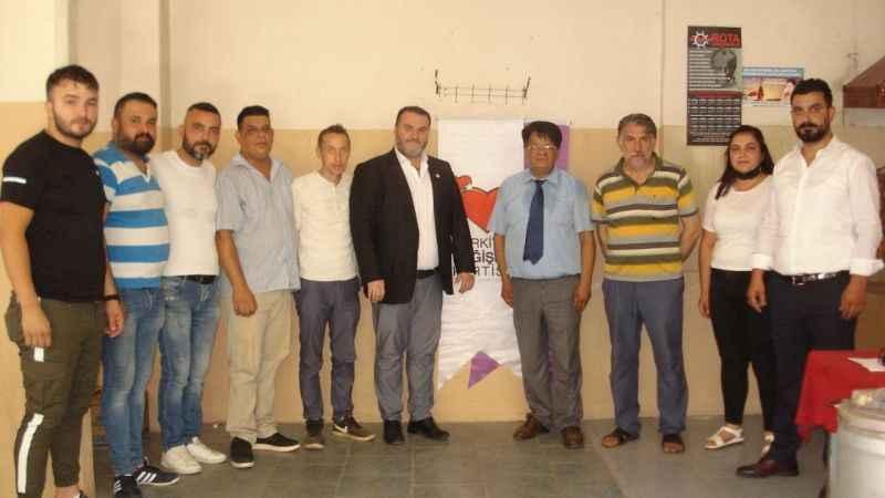 TDP Nazilli'de Aslan, başkan seçildi