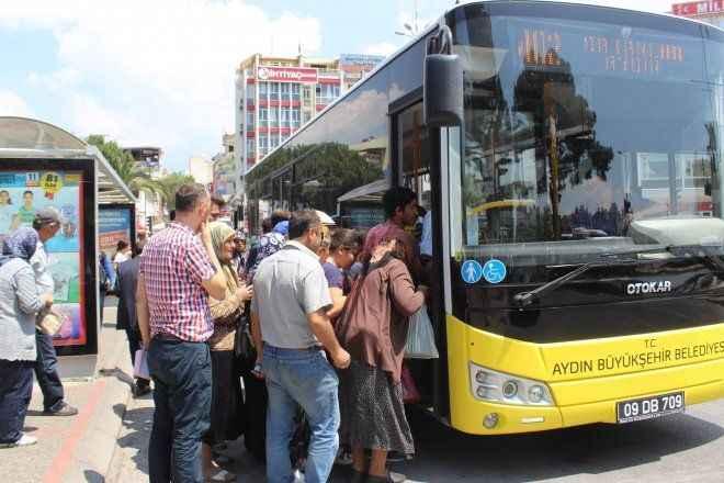 Büyükşehir halk otobüsleri, bayramda ücretsiz