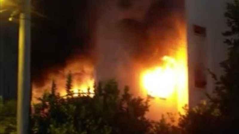 Aydın'da feci yangın
