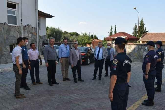 Karacasu protokolü bayramlaştı