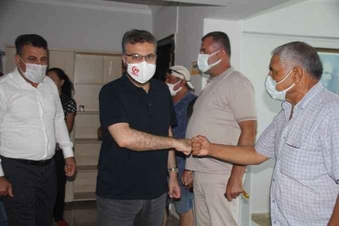 AK Partililer Didim'de bayramlaştı