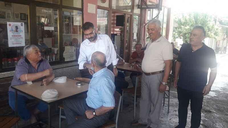 AK Partili Özmen, Dalama'da vatandaşlarla bir araya geldi