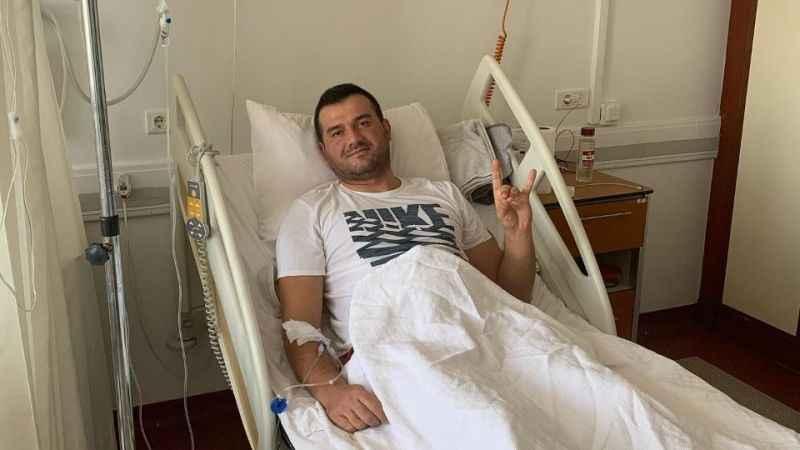 MHP'li Pehlivan hastaneye kaldırıldı