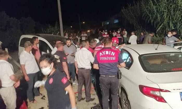 Aydın'da feci kaza; 1 ölü, 7 yaralı
