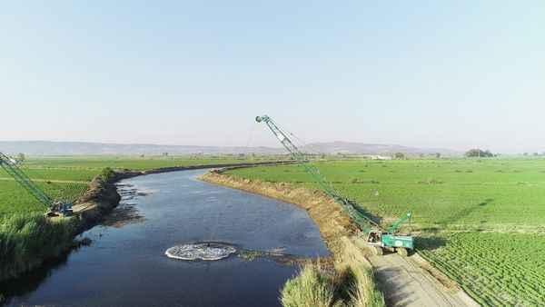 Söke'de tarım arazilerine ek sulama imkanı sağlanacak