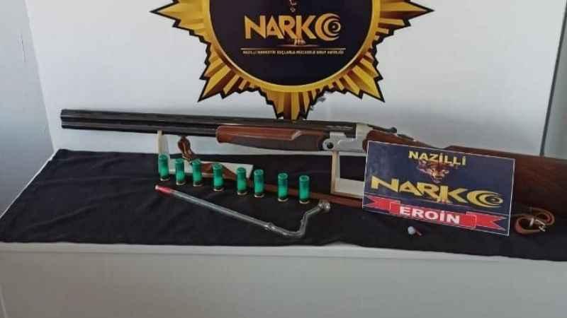 Nazilli'de uyuşturucuya bir darbe daha