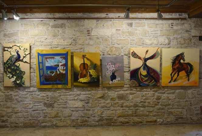 'Ayşe'nin Renkli Dünyası' İbramaki Sanat Galerisi'nde