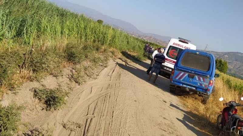 Kuyucak'ta feci kaza: Genç çiftçi hayatını kaybetti