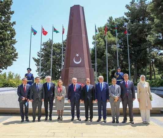 Azerbaycan'a giden TBMM heyetinde, Milletvekili Sezgin de yer aldı