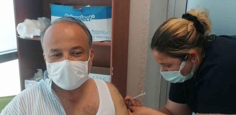 """AK Partili Yavuz, """"Salgına karşı en güçlü silahımız aşı"""""""