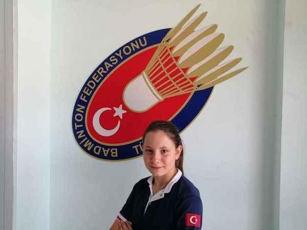Badmintonda Türkiye'yi Aydınlı Aybüke temsil edecek