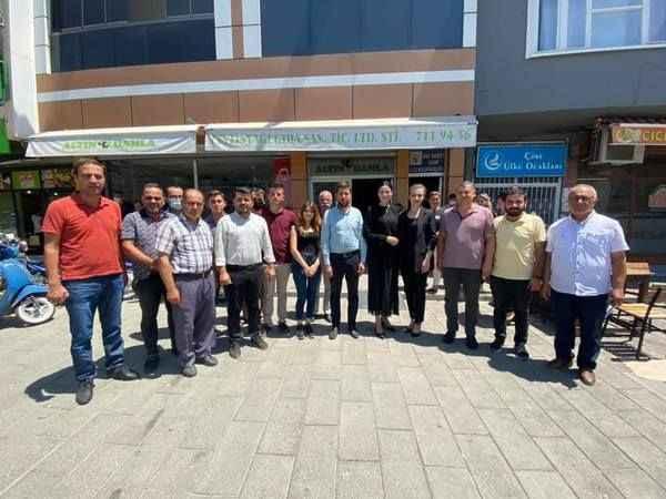 Çine AK Parti Teşkilatı, Sarıbaş'ı ağırladı
