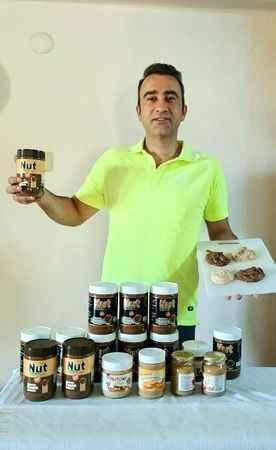 Ege'nin ilk kakaolu fındık kremasını Aydın'da üretiyor