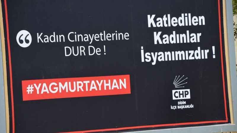 Didim CHP'den kadın cinayetlerine tepki