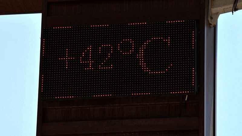 Aydın'da termometreler 42'yi gösterdi