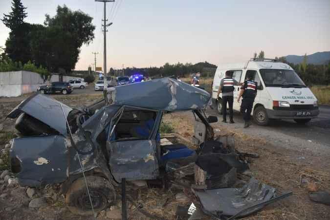 Karacasu'da feci kaza: 2 ölü