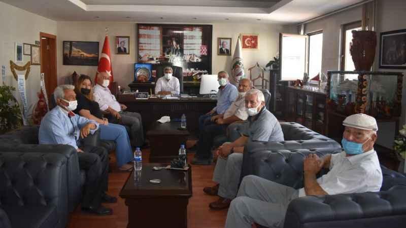 İYİ Parti'den Başkan Erikmen'e 'hayırlı olsun' ziyareti