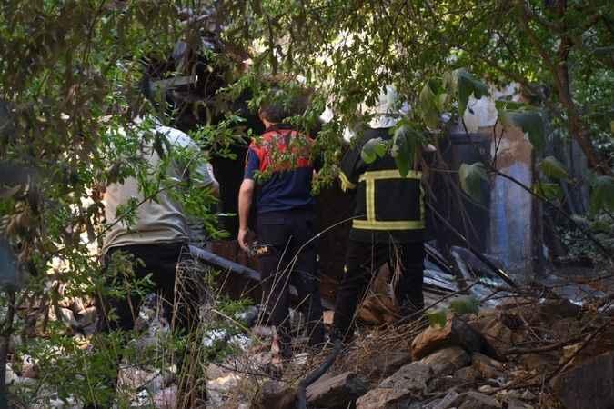 Karacasu'da büyük tehlikeyi belediye personeli önledi