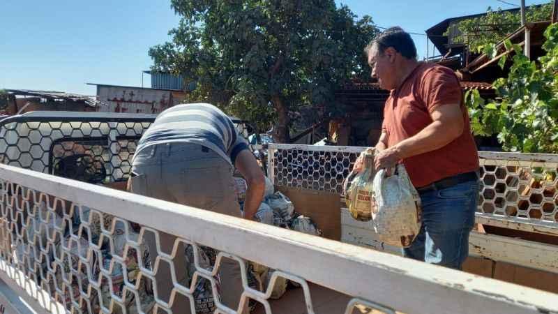Karacasu'nun doğal soğutucuları Manavgat'a gönderildi