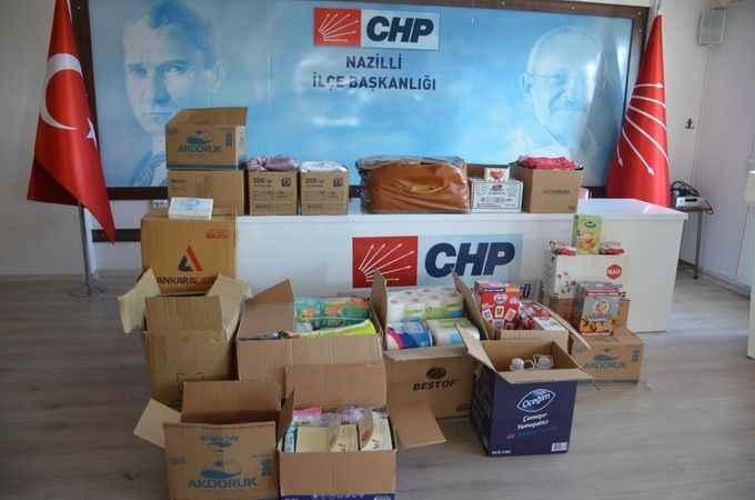 Nazilli CHP, çağrı da bulundu