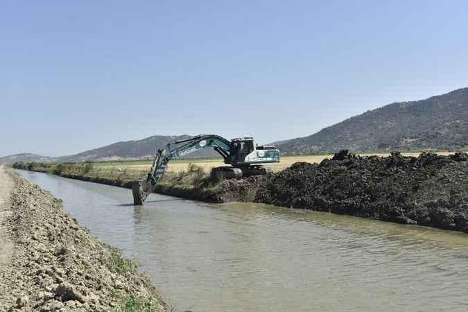 Söke'deki tahliye kanalı açılıyor