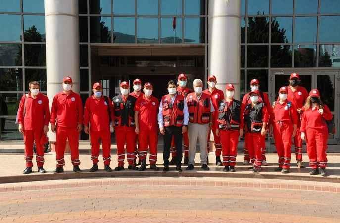 ADÜ ekibi, Karacasu yangında görev alıyor