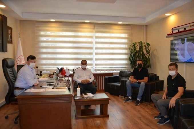 Naz Naz'lı yöneticilerden Fillikçioğlu'na ziyaret