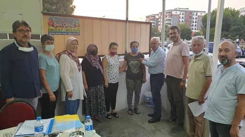 Efeler'den İYİ Parti'ye 11 yeni üye