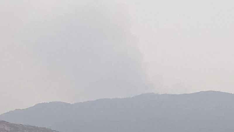 Gökbel Dağı yanıyor