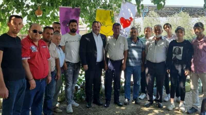 TDP Yenipazar'da Özdemir güven tazeledi