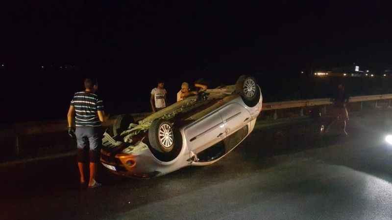 Aydın'da trafik kazası : 2 yaralı