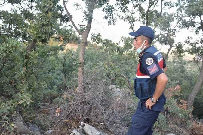 Karacasu'daki yangının sebebi belli olmadı