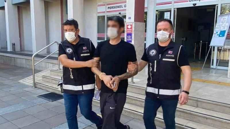 Cinayet zanlısı Nazilli polisinden kaçamadı