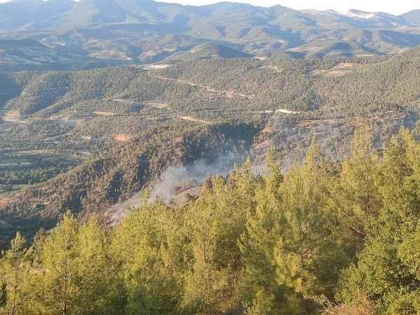 Vali Aksoy, 'Yangınlarla mücadelemizi titizlikle sürdürüyoruz'