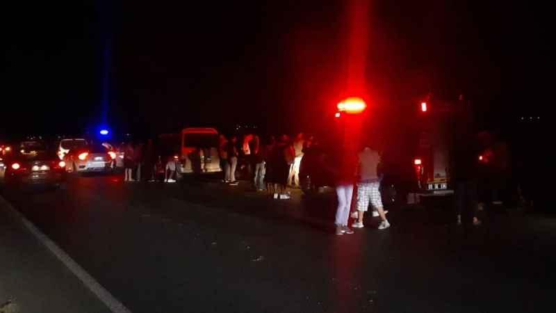 Aydın'da feci kaza; 1 ölü, 1 yaralı