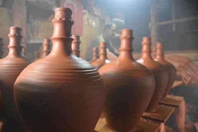 Karacasu çömlekçiliğine fotoğrafçı ilgisi