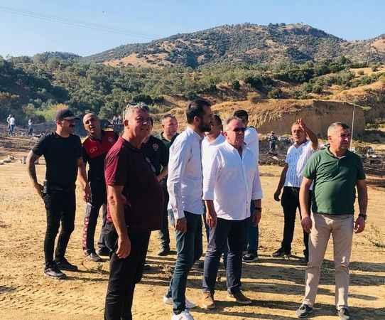 Başkan Öndeş'ten yangın söndürme teşekkürü
