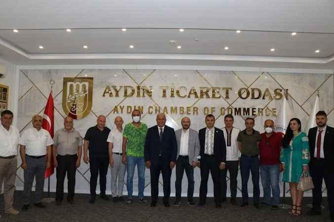 Ukrayna heyetinden AYTO'ya ziyaret