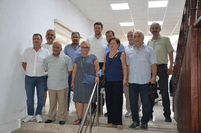 Didim İYİ Parti'den esnaf odasına ziyaret